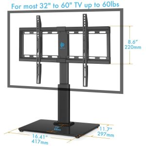 HUANUO HN-TVS02 Universal Table Top TV Stand